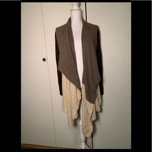 Aqua Cashmere Blend Cardigan Size S